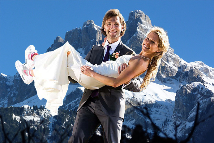 Love Gracefully ceremonies in Chamonix
