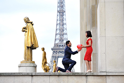 Love Gracefully proposals in Paris France