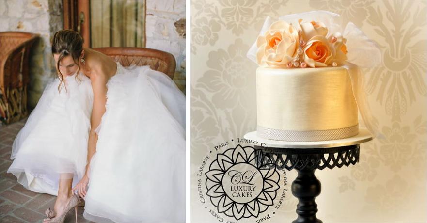 Love gracefully Cristina Lasarte luxury cakes in Paris