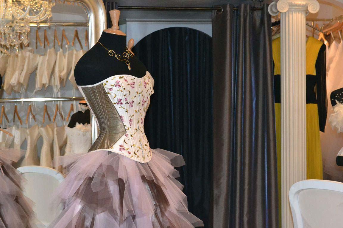 Love gracefully Estelle Cloann Couture Boutique Cannes