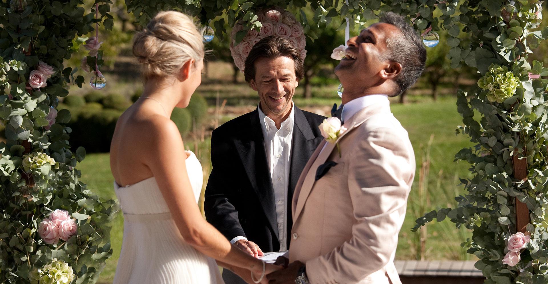 Love gracefully destination wedding ceremony