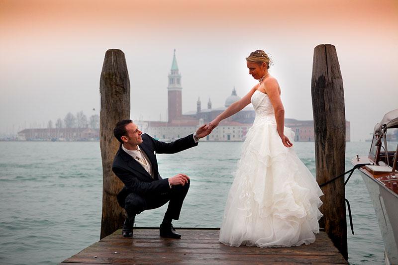 Custom & Tailormade Ceremony in Venice, Italy