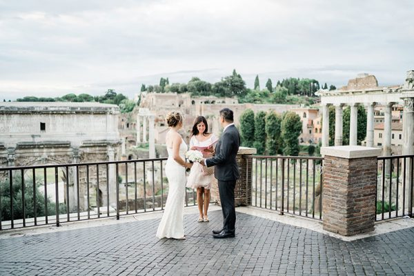 Elopement Ceremony in the Capitol, Rome
