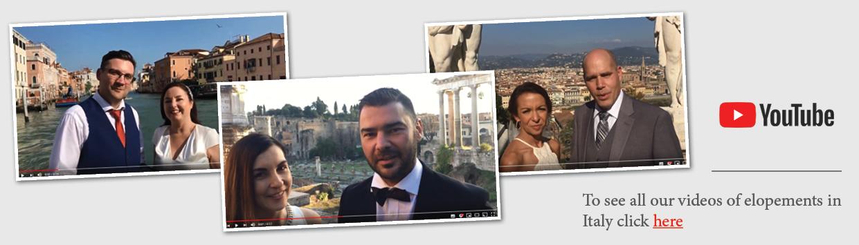 Testimonials Elopement in Italy