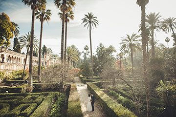 Beautiful Garden to elope in Seville, Spain