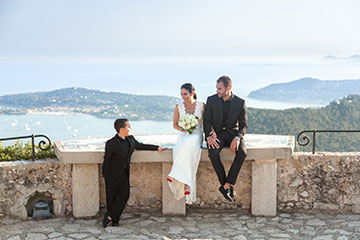 Great views in French Riviera to plan your elopement