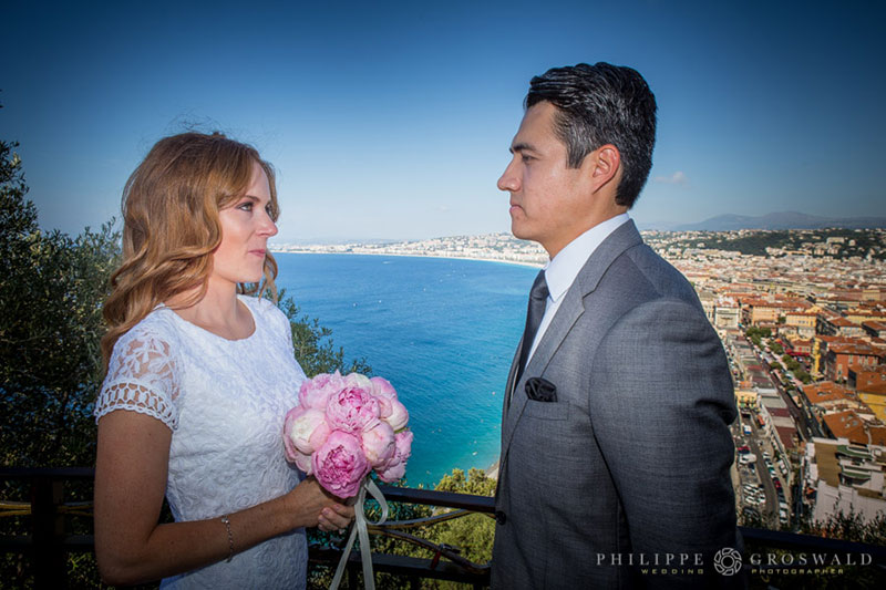 Custom & Intimate elopement ceremony in French Riviera