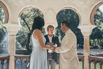Elopement Celebrants and officiants in Seville