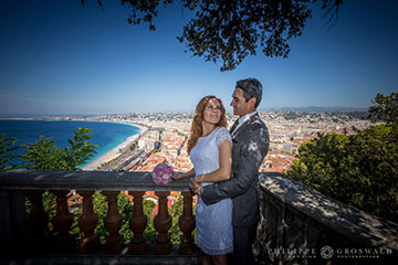 Feel like a Hollywood star in your French Riviera elopement