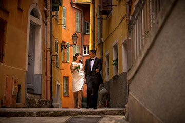 Stress Free Elopement in French Riviera - See our guide