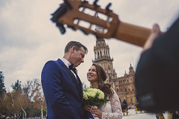 Live music in your elopement celebration in Seville
